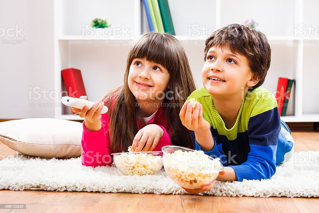 Leisure time for children stock photo