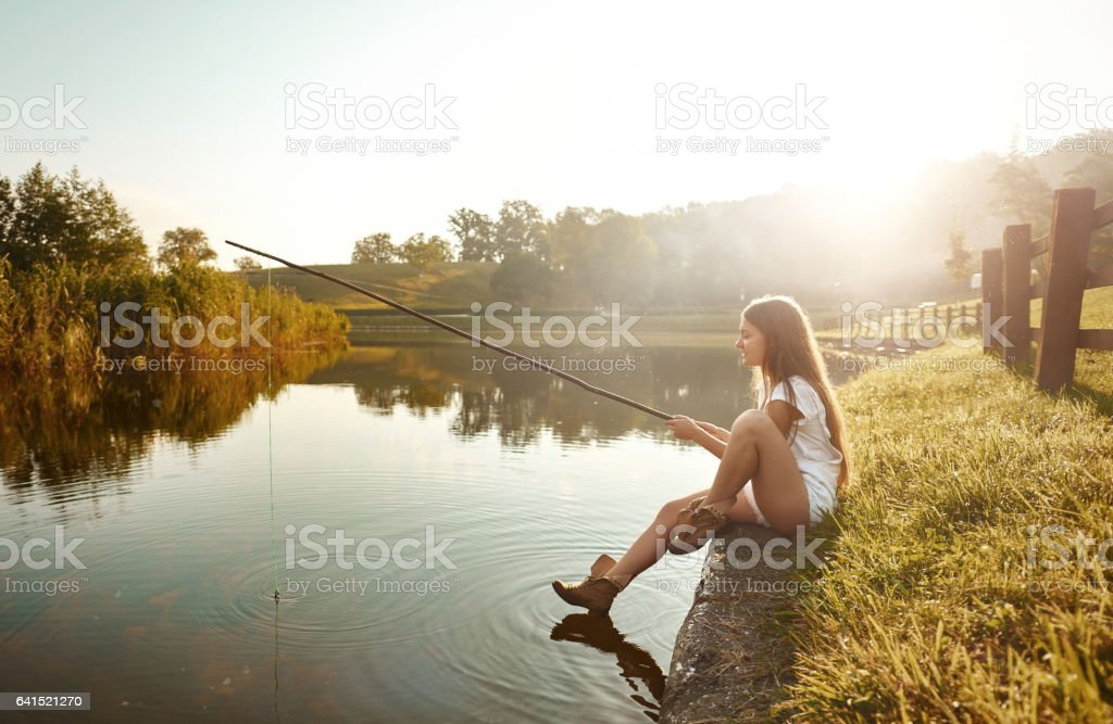leisure time in summer day stock photo
