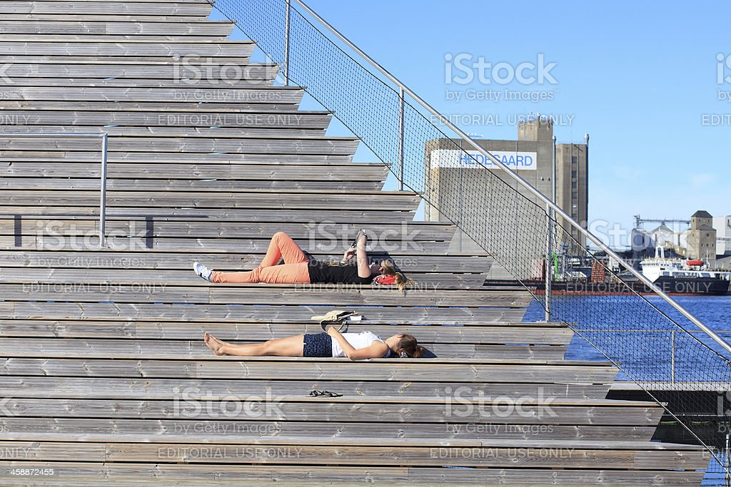 Leisure time in summer royalty-free stock photo