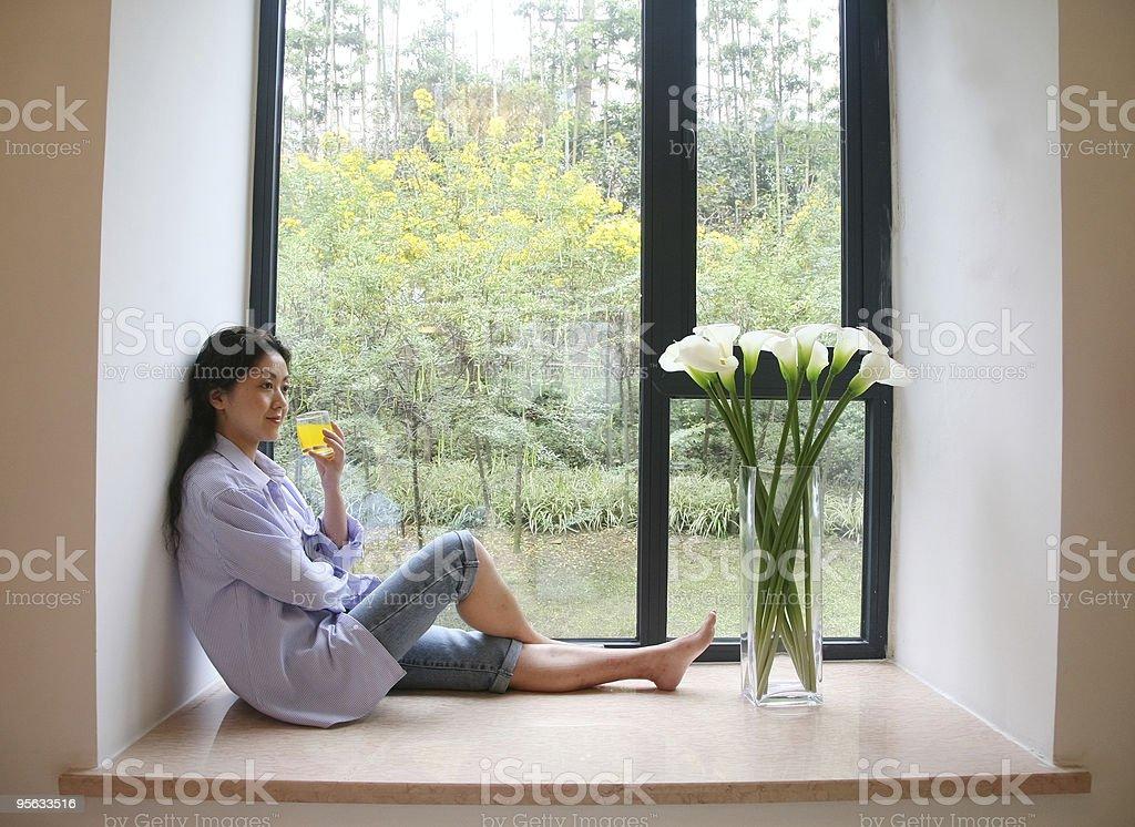 Leisure woman royalty-free stock photo