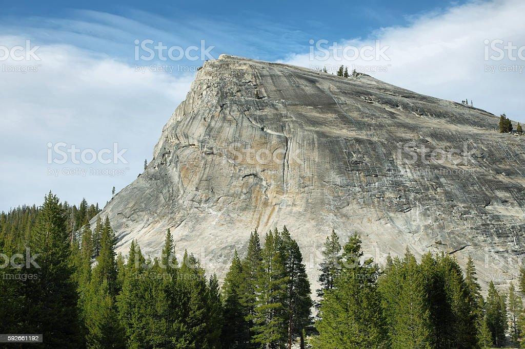 Lembert Dome in Tioga Pass, Yosemite stock photo