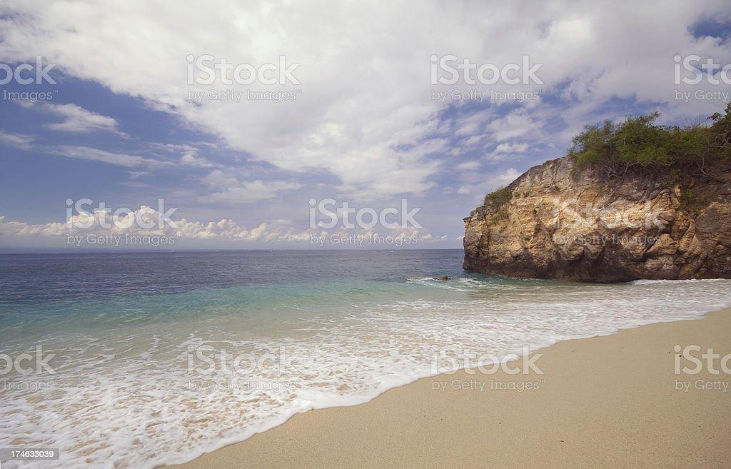 Lembongan Beach stock photo