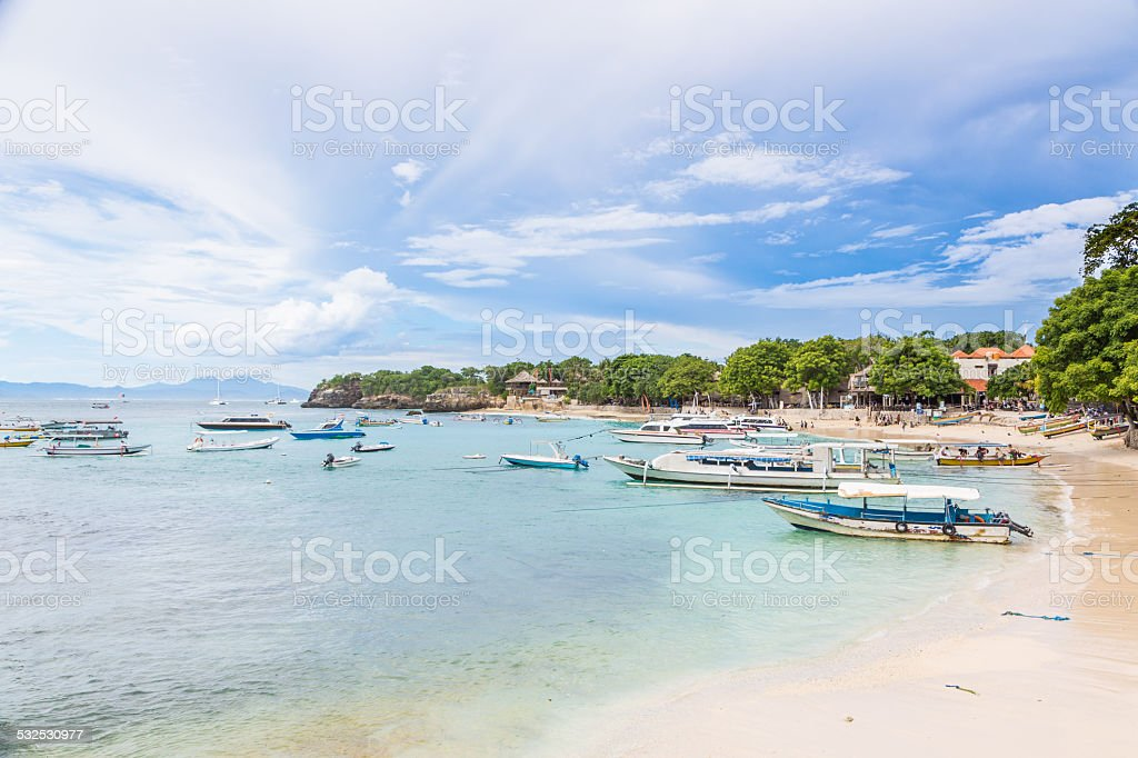 Lembongan island, Bali, Indonesia stock photo