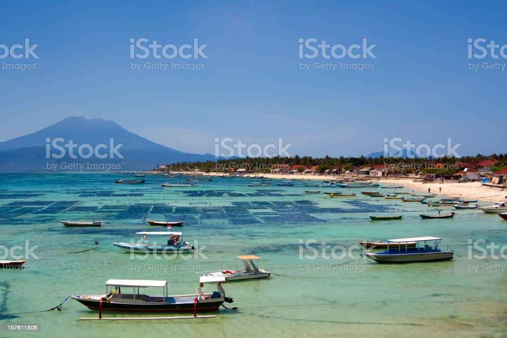 Lembongan island, Bali stock photo