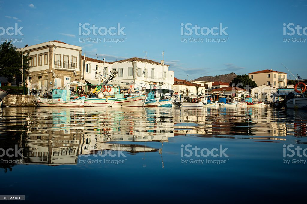 Lemnos island, Greece stock photo
