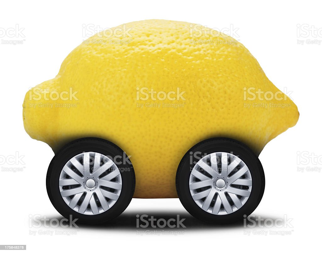 Lemon Car stock photo