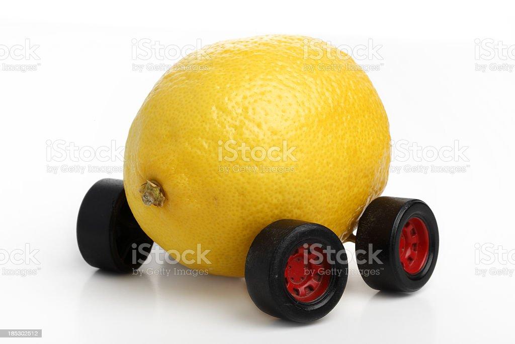 Lemon Car royalty-free stock photo