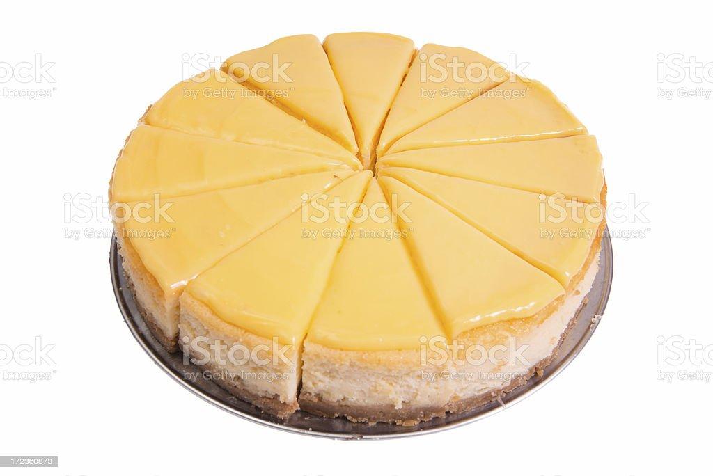 lemon cheese cake (XXXL) royalty-free stock photo