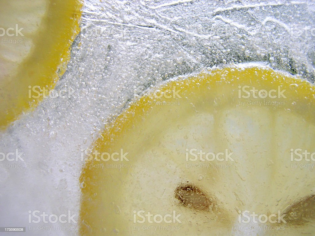 lemon cool royalty-free stock photo