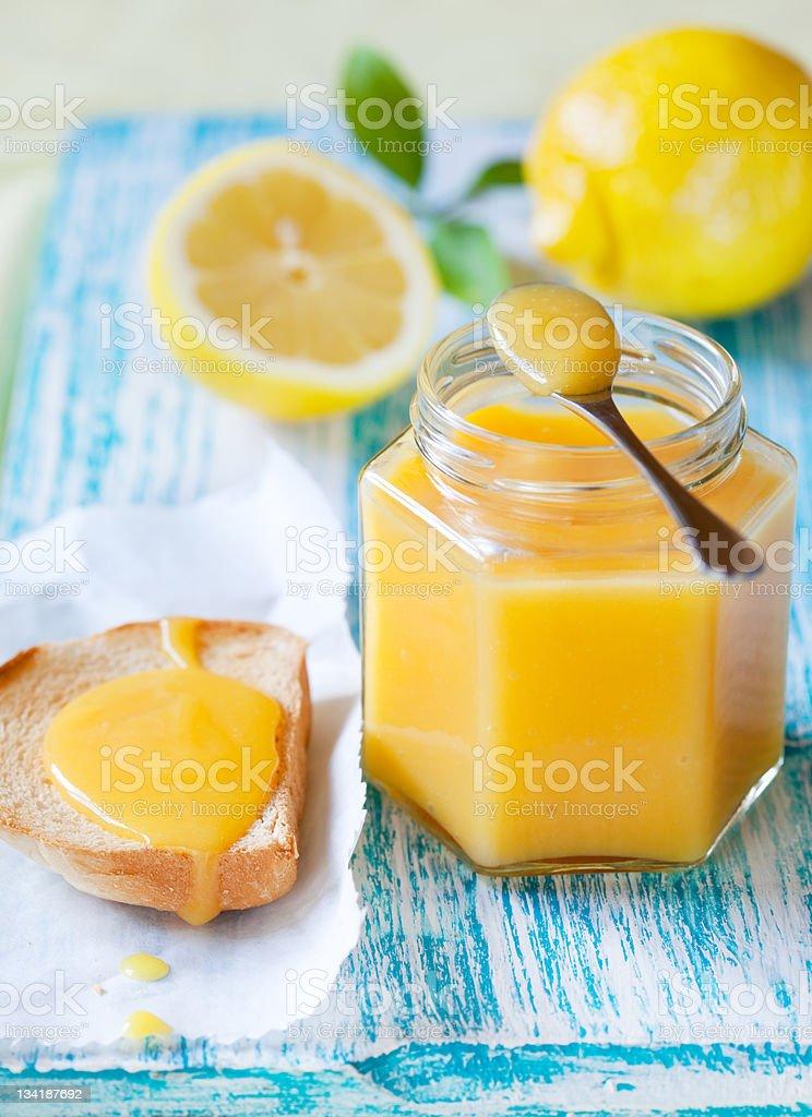 Lemon Curd stock photo