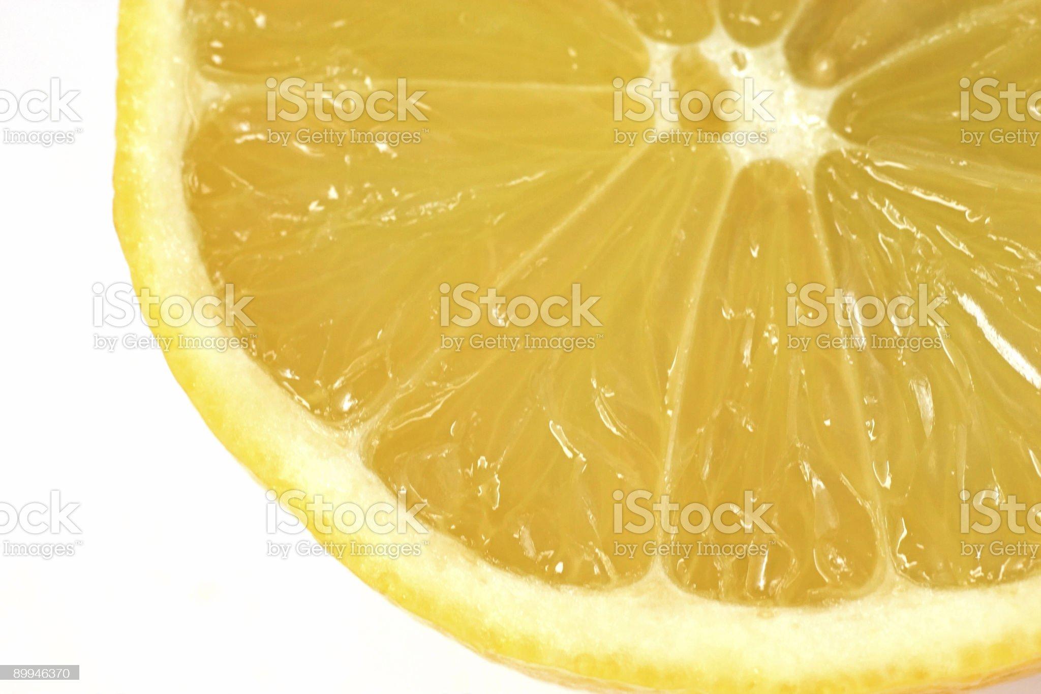 Lemon detail royalty-free stock photo