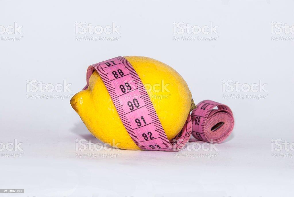 Lemon diet stock photo