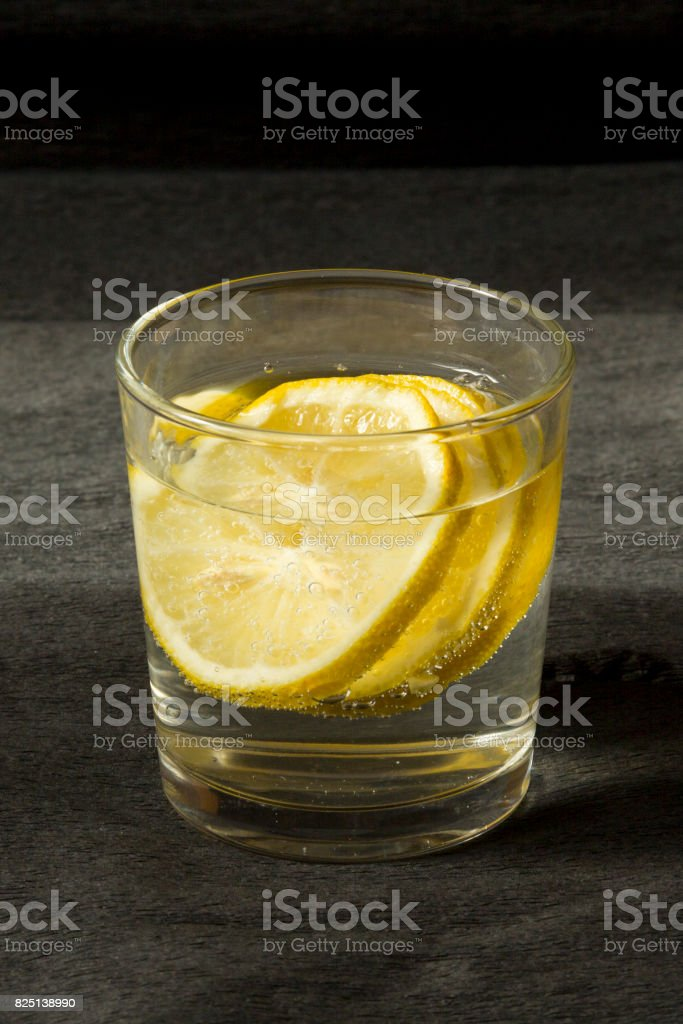 Lemon drink stock photo