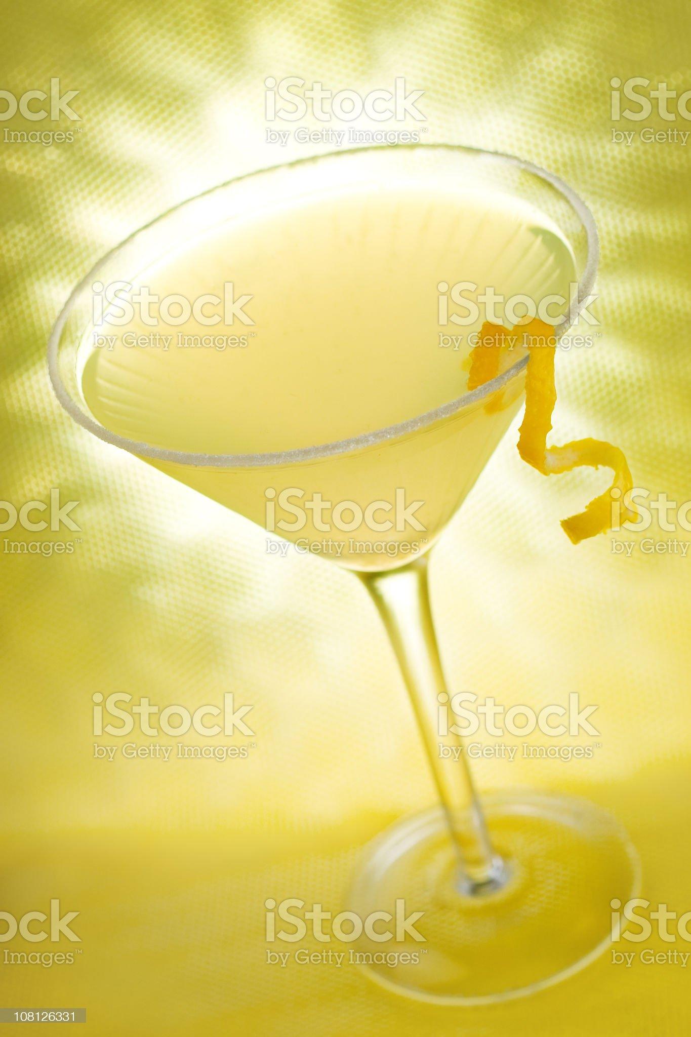 Lemon Drop royalty-free stock photo