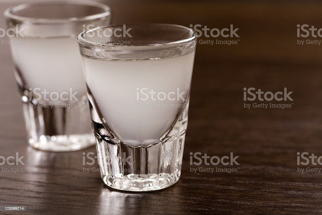 Lemon drop shot royalty-free stock photo