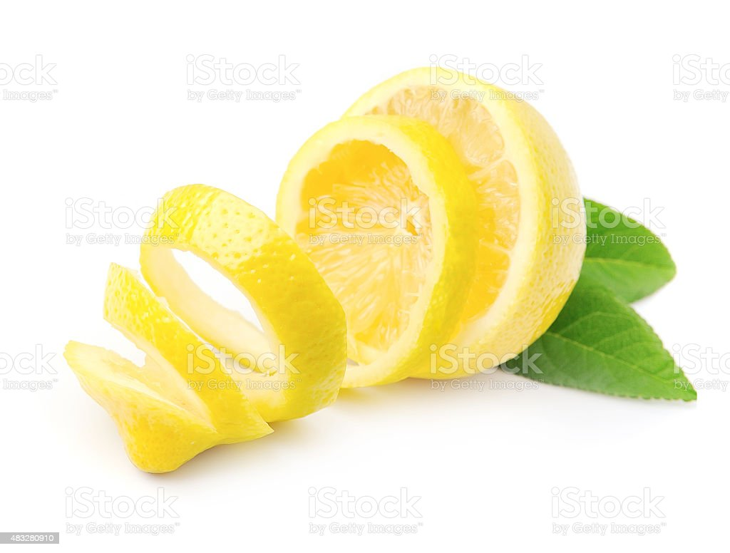 Lemon fruits stock photo