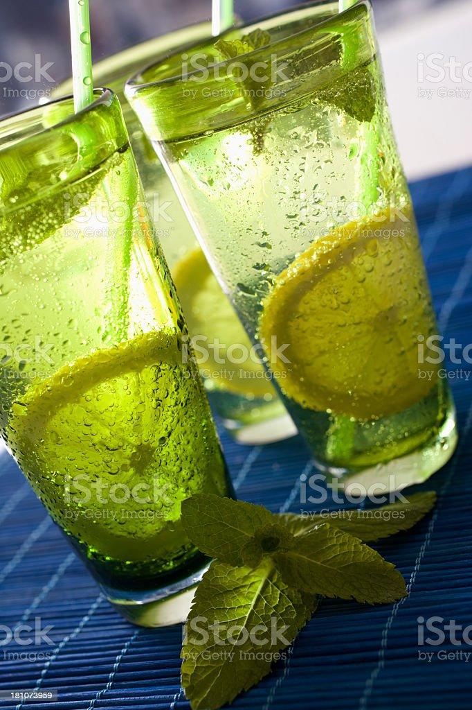 Lemon Gin fizz royalty-free stock photo