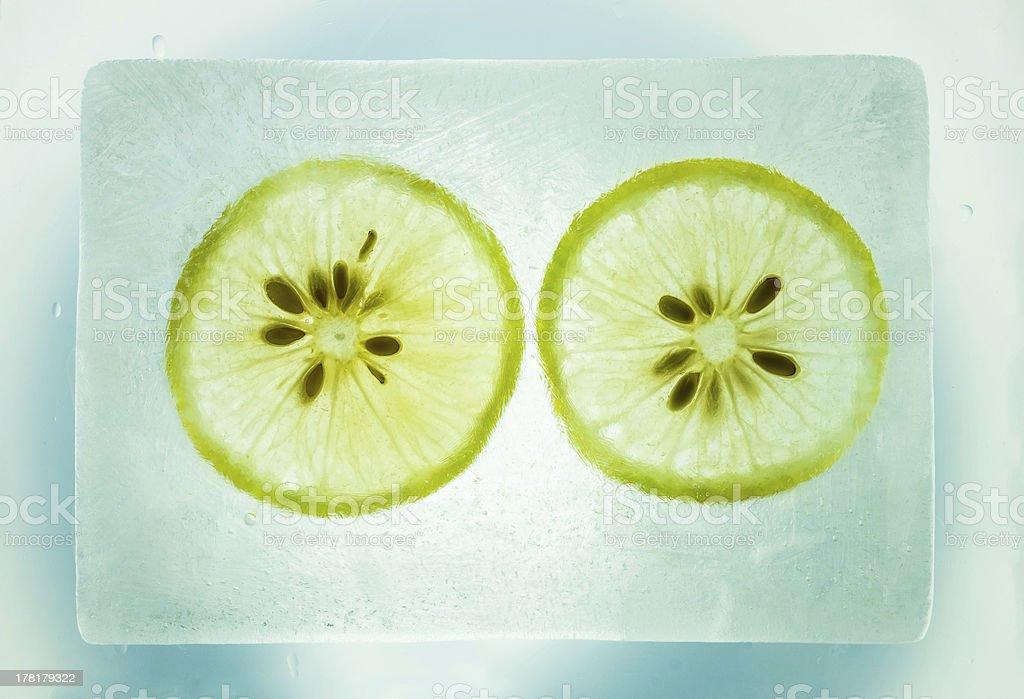 lemon ice royalty-free stock photo