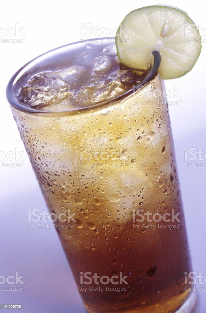 Lemon ice Tea royalty-free stock photo