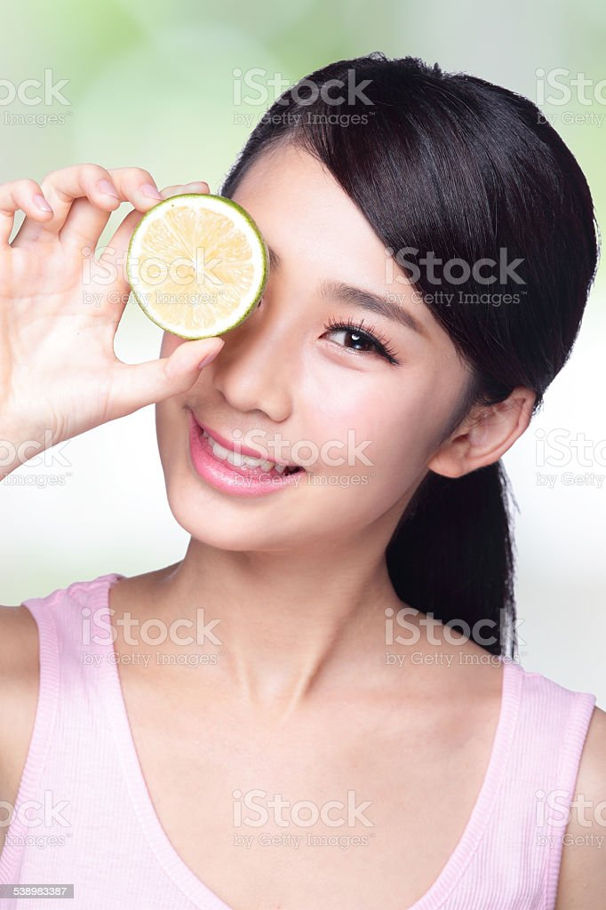 lemon is great for health stock photo