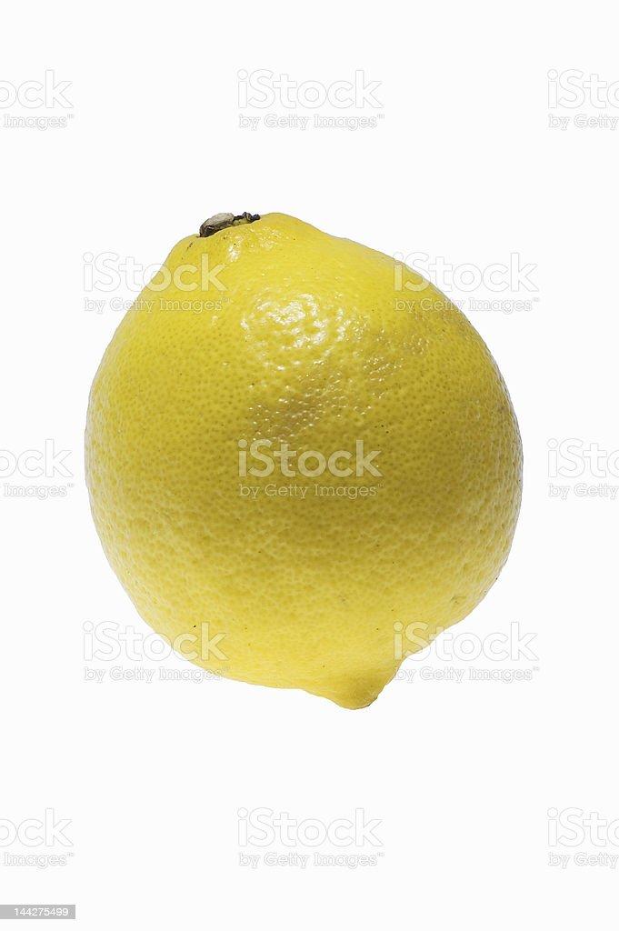 lemon isolated on white background royalty-free stock photo