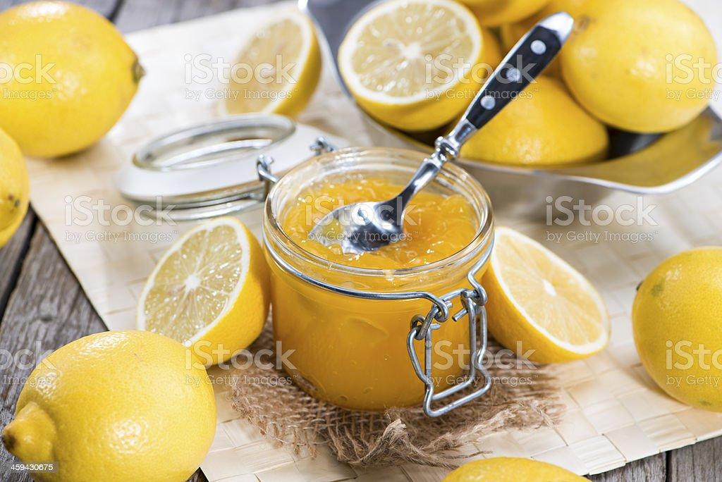 Lemon Jam stock photo