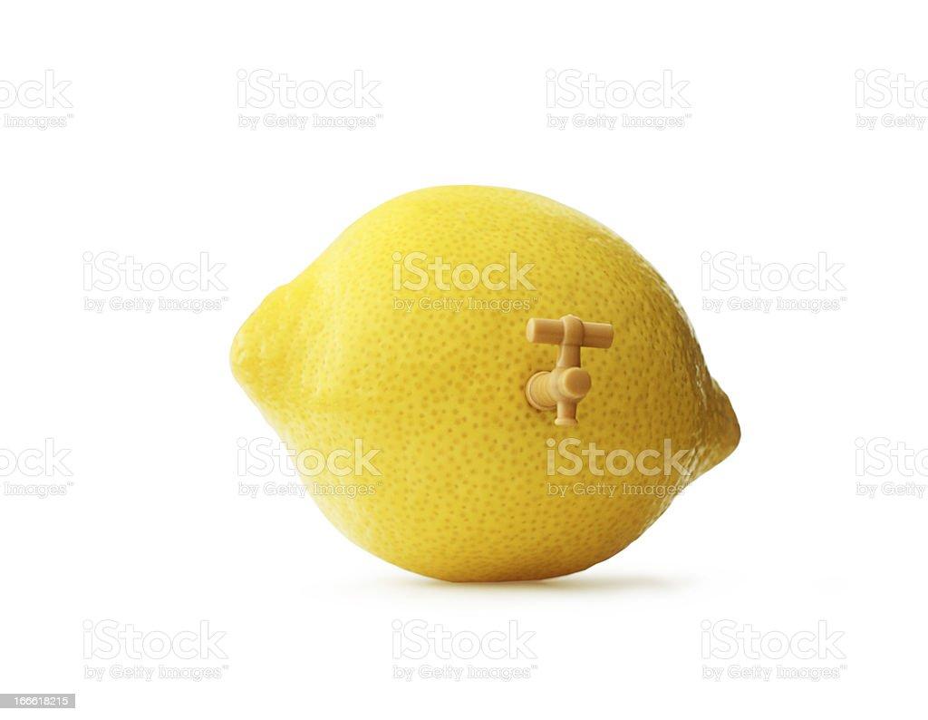 Lemon Juicer royalty-free stock photo