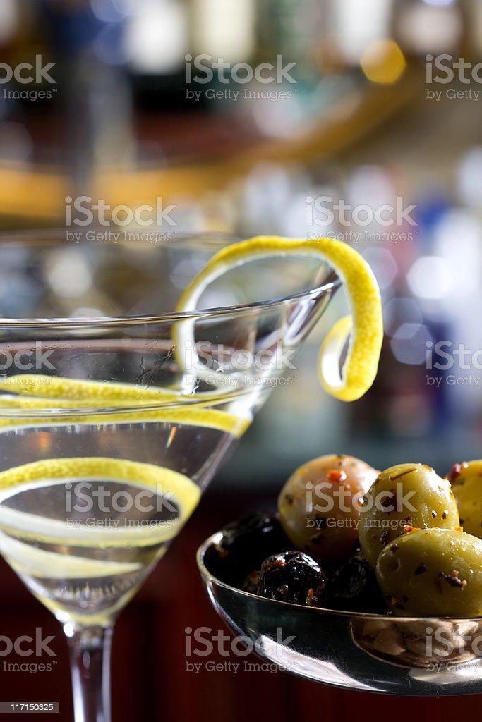 Lemon Martini royalty-free stock photo