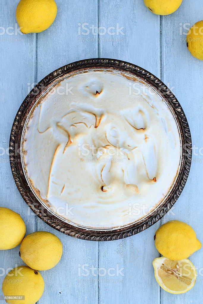 Lemon Meringue Pie stock photo