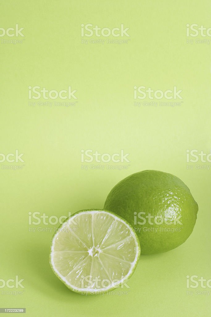 lemon or lime royalty-free stock photo