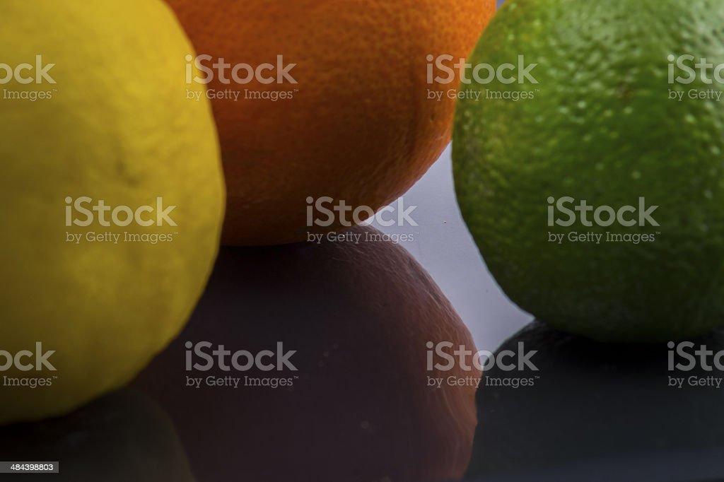 Lemon, Orange, Lime stock photo