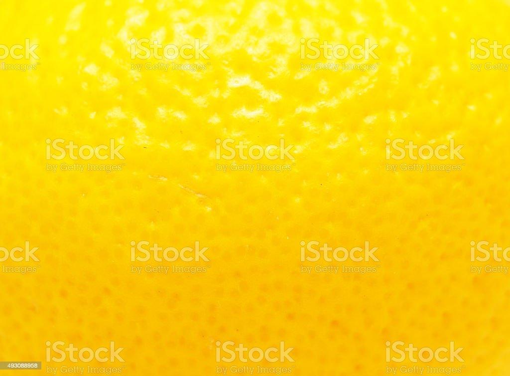 lemon peel stock photo