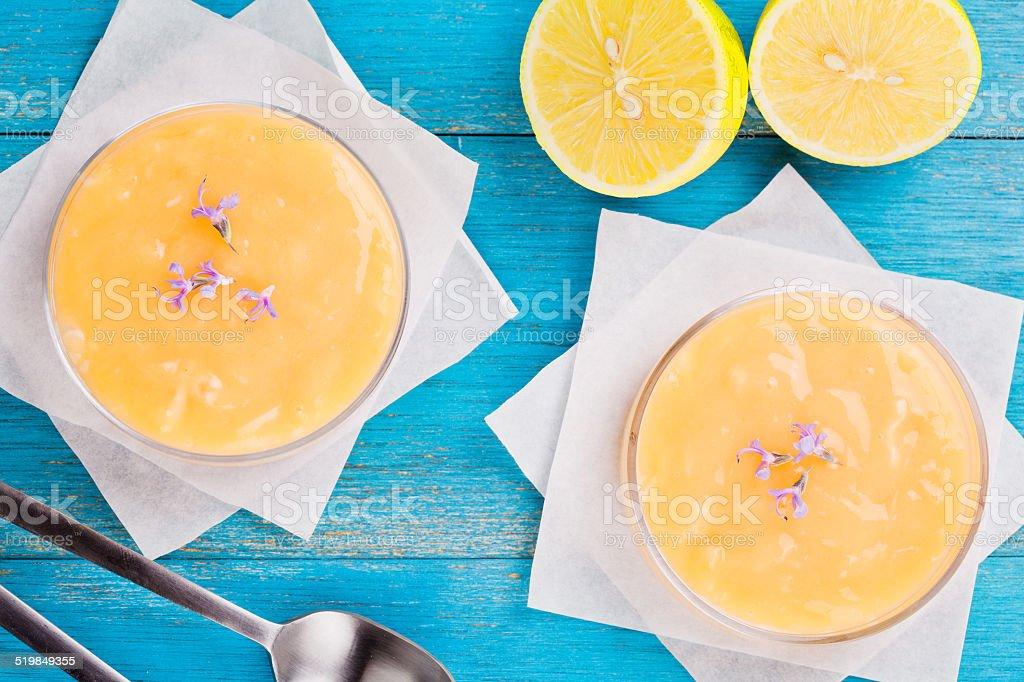 Lemon Pies Dessert stock photo