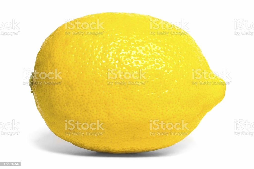 Lemon side royalty-free stock photo