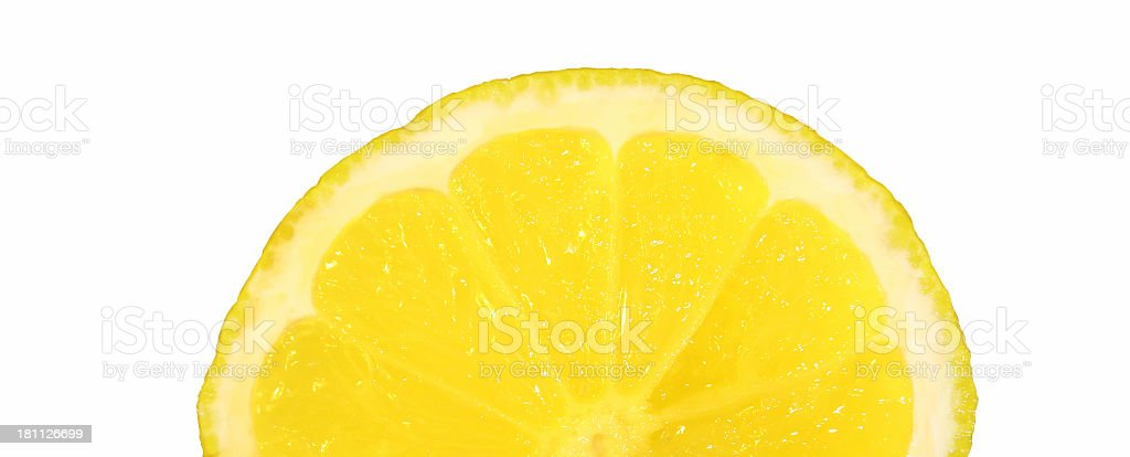 Lemon slice royalty-free stock photo