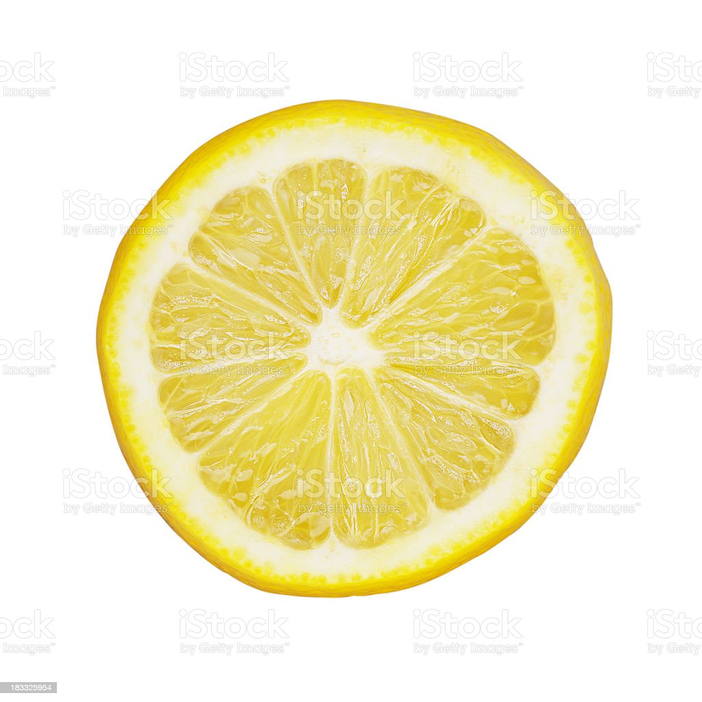 Lemon Slice stock photo