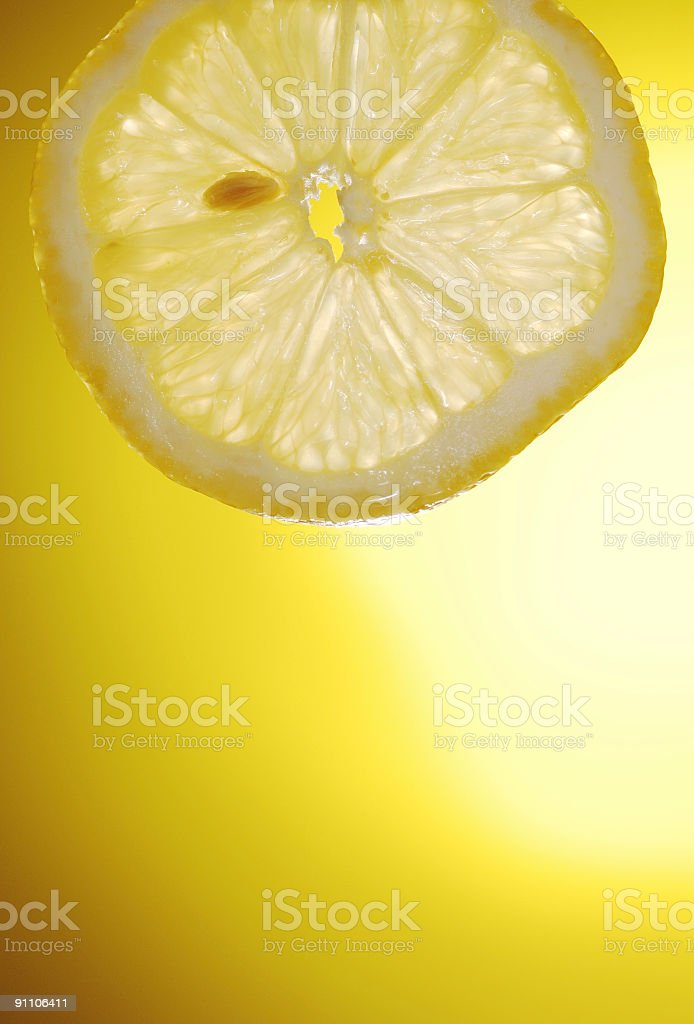 Lemon Slice royalty-free stock photo