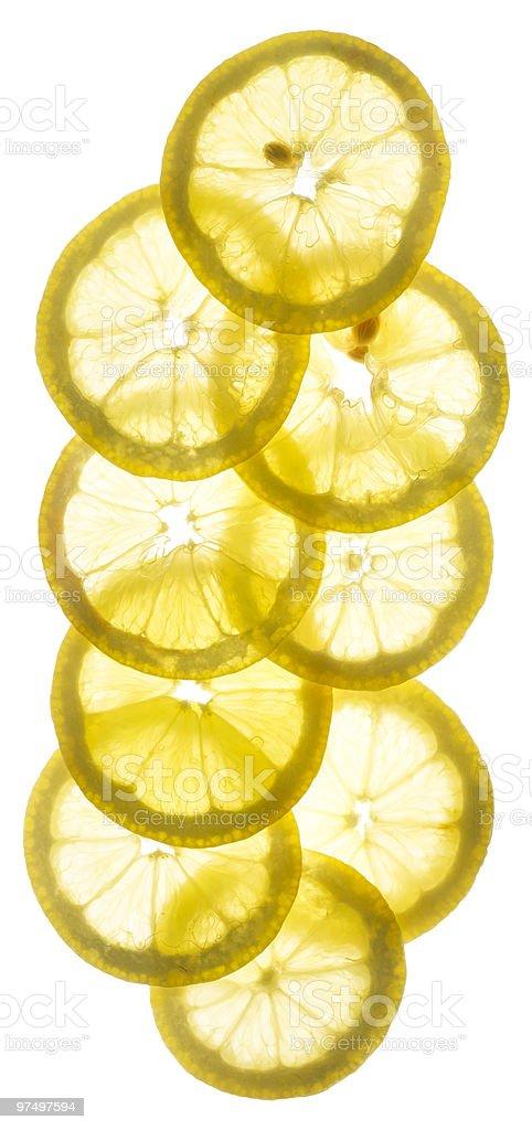 Lemon Slices royalty-free stock photo