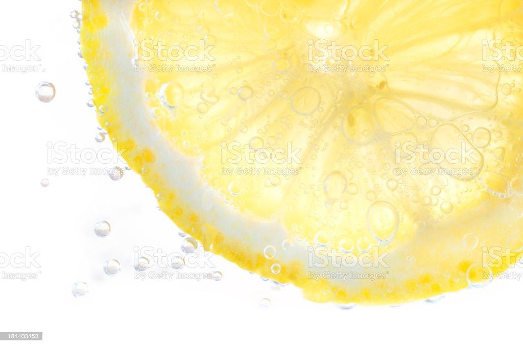 Lemon soda royalty-free stock photo