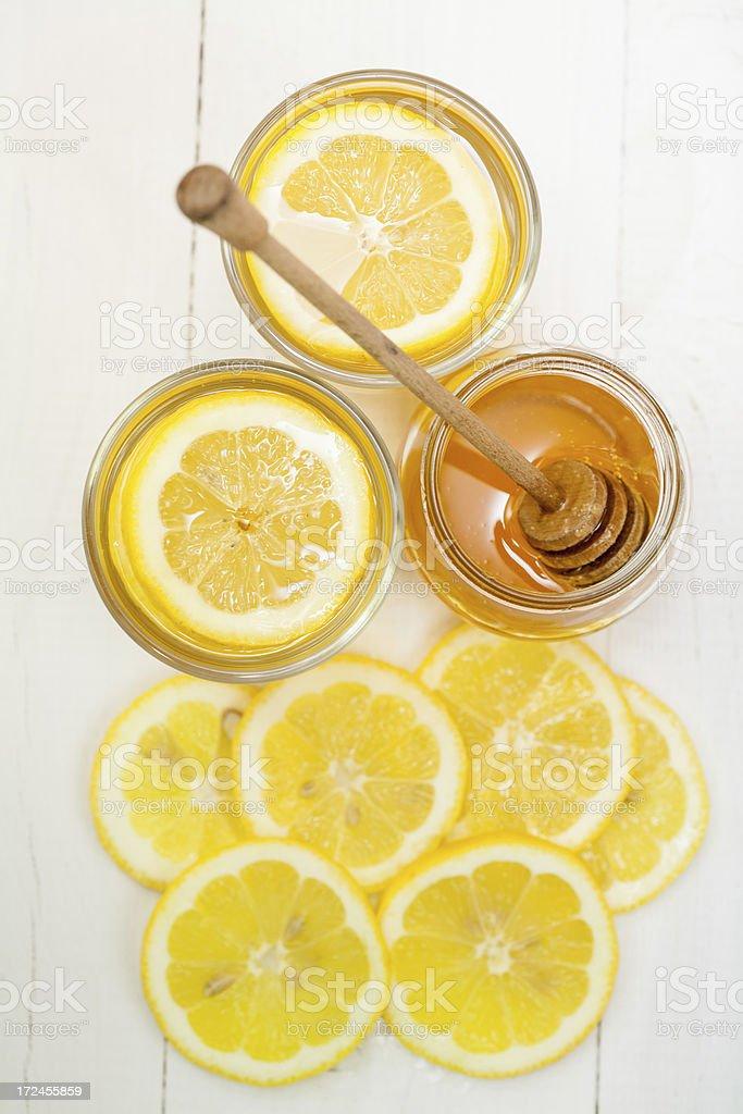 Lemon Tea royalty-free stock photo