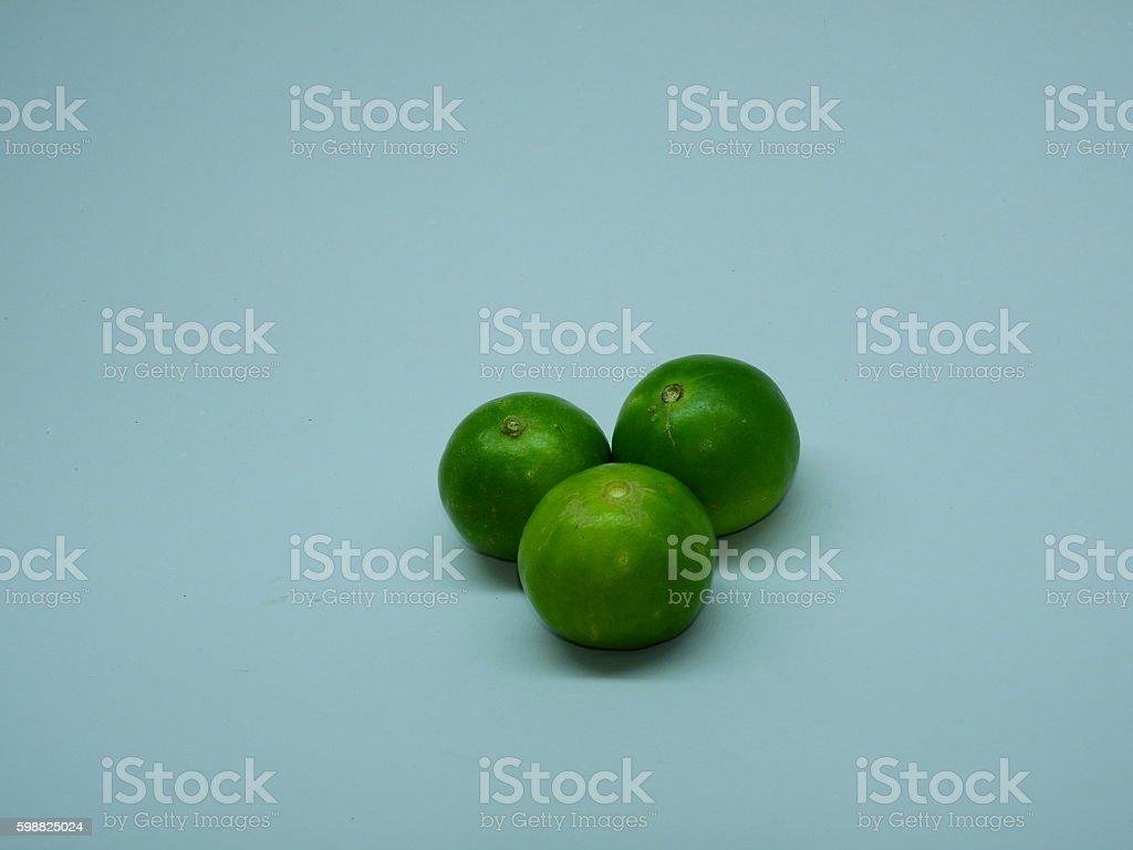 Lemon three citrus fruit stock photo