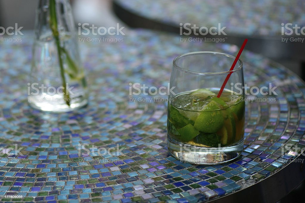 lemon water,drink royalty-free stock photo