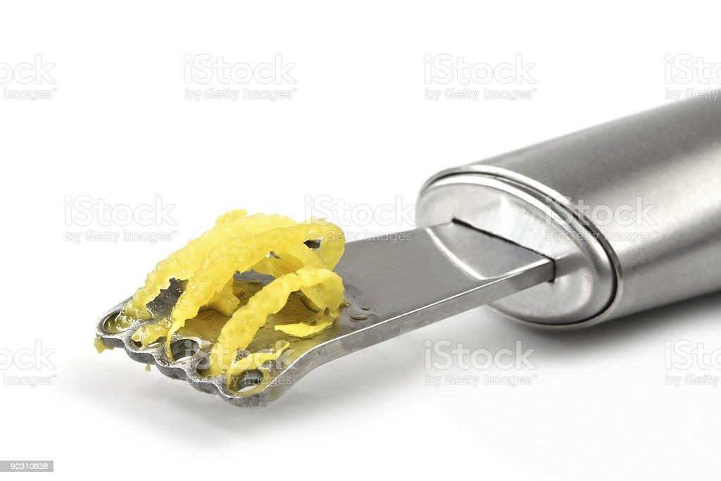 Lemon Zest stock photo