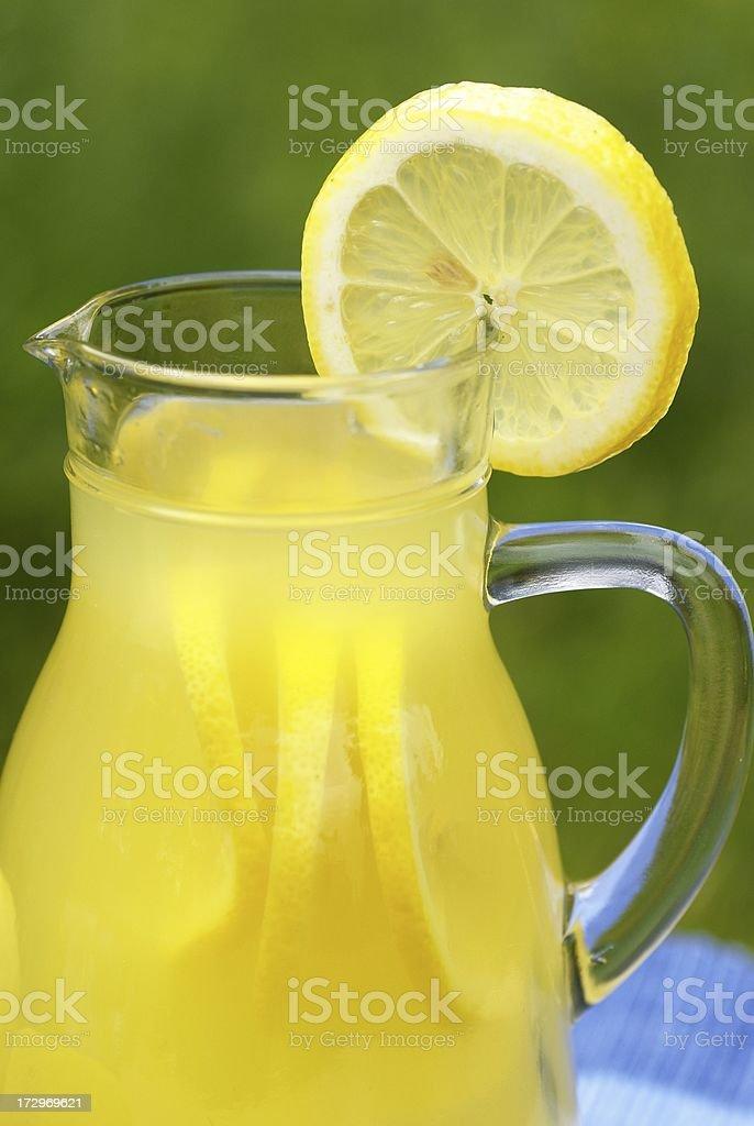 Lemonade detail royalty-free stock photo