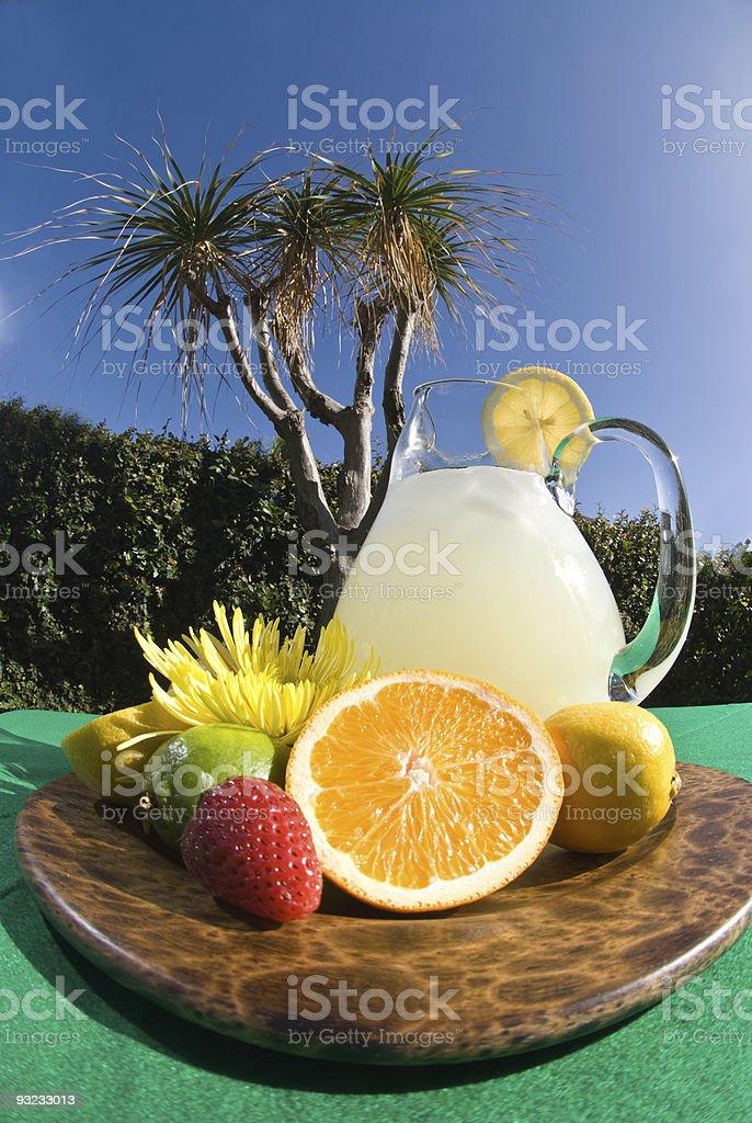Lemonade summer royalty-free stock photo