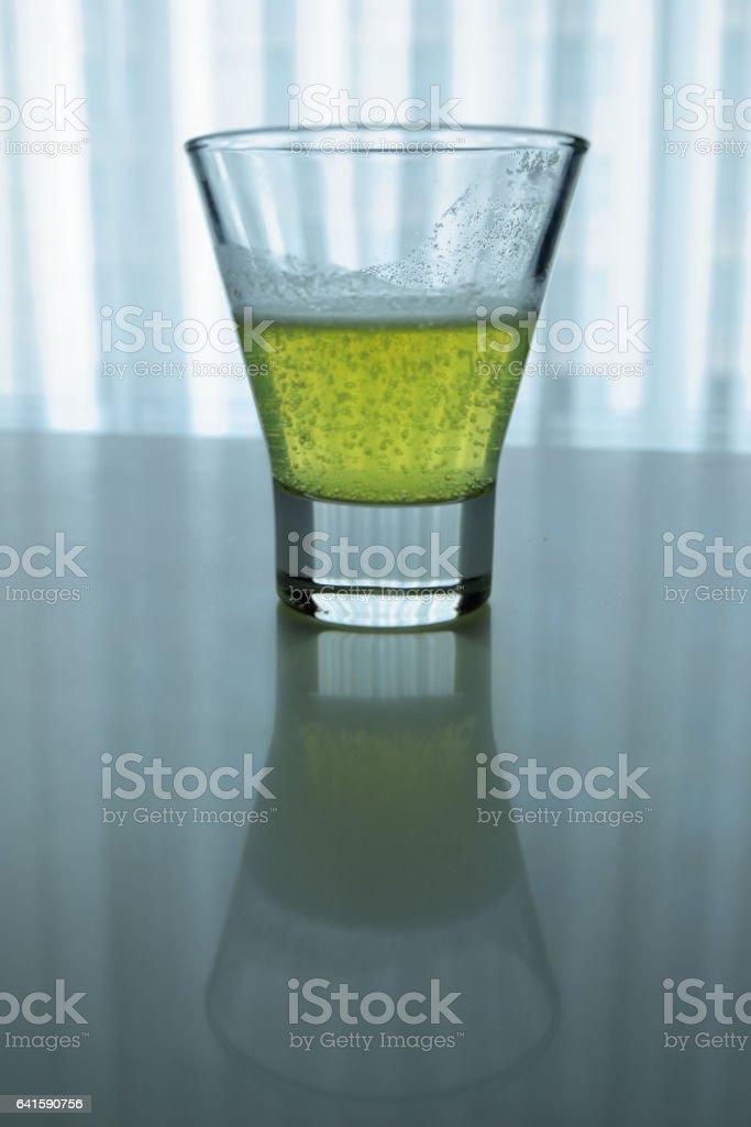 Lemon-Lime Soda stock photo