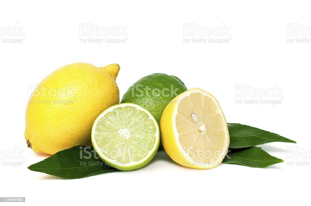 Restaurant Lemons and limes photo libre de droits