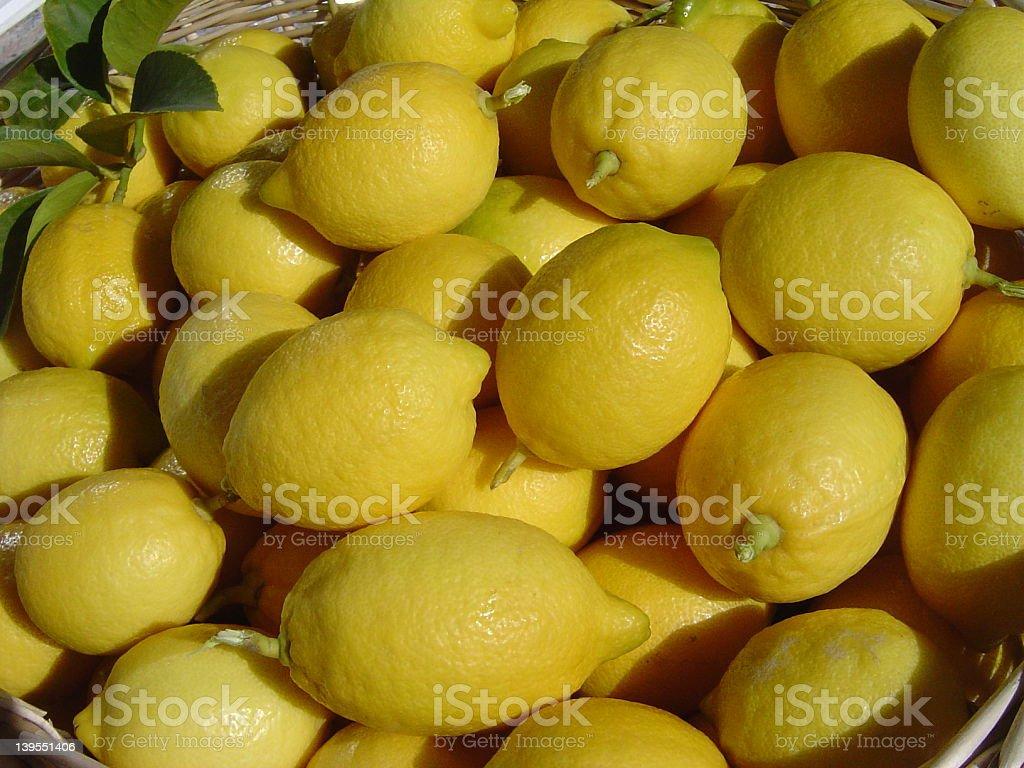 Lemons II stock photo