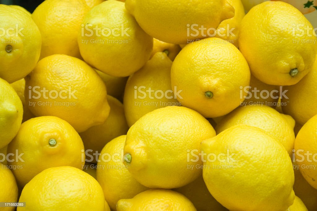 Lemons!! royalty-free stock photo