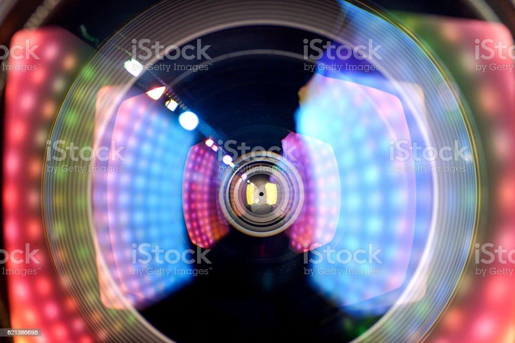 len  light effect stock photo